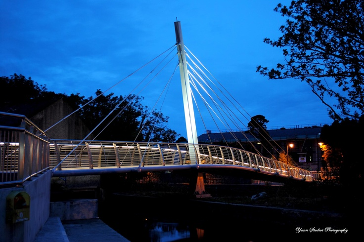 NUI Galway Bridge....Night scene ... YANN STUDIOS