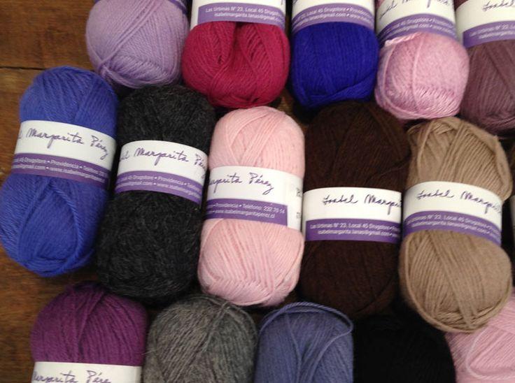 Nuevas lanas de otoño. Recién llegadas de Arequipa. Alpaca, baby alpaca, llama, seda.