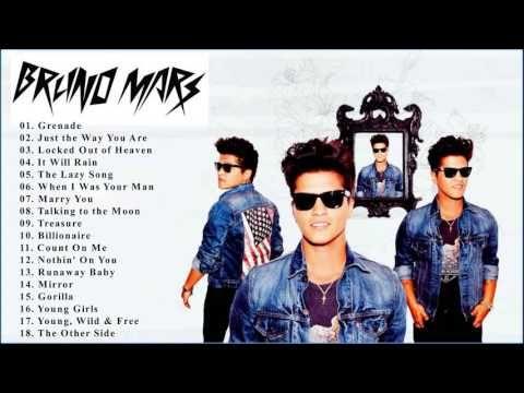 Bruno Mars Greatest Hits 2016 - Best Of Bruno Mars - YouTube