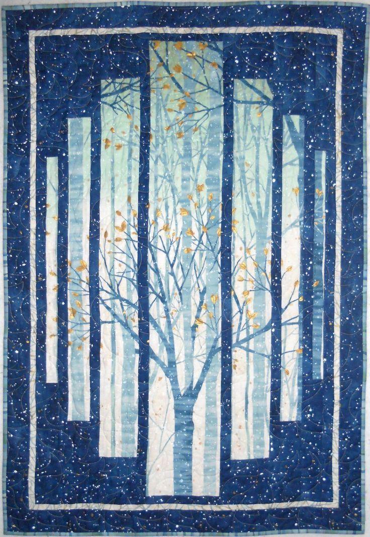 Image result for landscape quilt panel