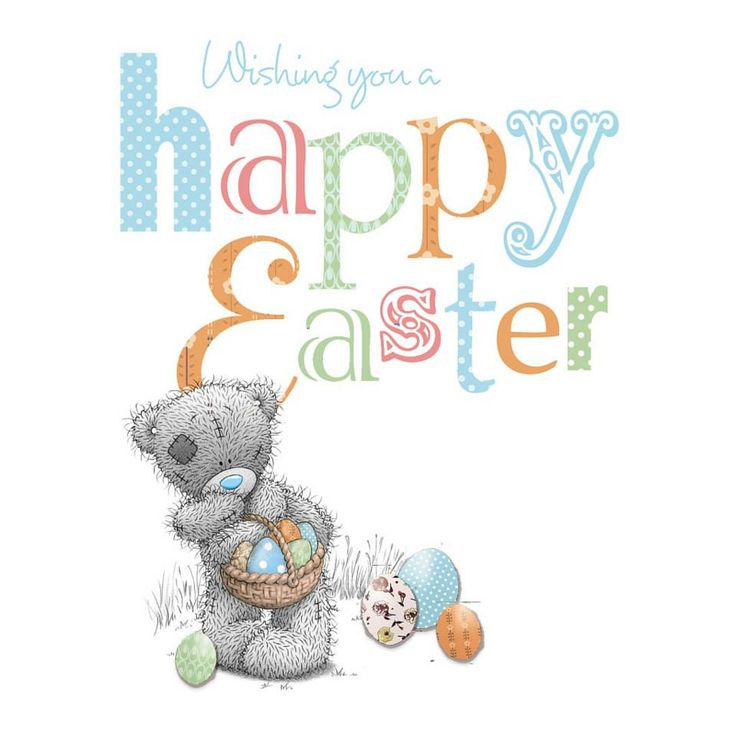 Wishing you a happy Easter ♡ Tatty Teddy tjn