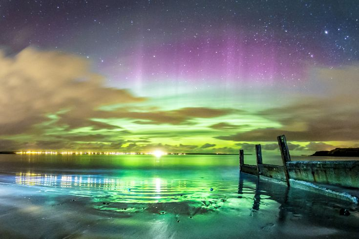 This series of incredible photos were all taken from the Isle of Lewis, in the Outer Hebrides. | 10 Breathtaking Photos Of The Northern Lights, Taken On A Scottish Island