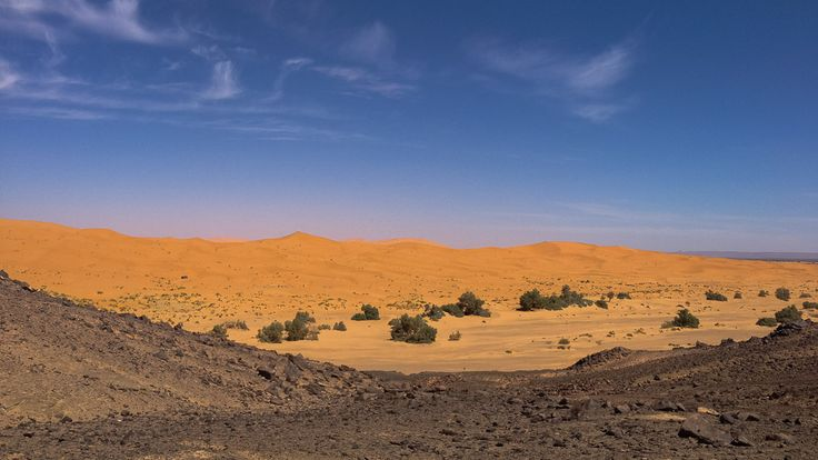 Já pensou em passar a noite em um acampamento nômade em pleno deserto do Saara?! O Tô Pensando em viajar já! E foi até as dunas de Erg Chebbi, no Marrocos.