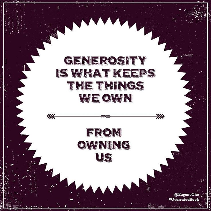 Love Quotes About Life: 25+ Best Generosity Quotes On Pinterest