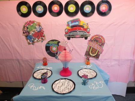 124 best images about 50u0027s Sock Hop Party Ideas on Pinterest | Poodle skirts Jukebox & 50s decoration ideas | My Web Value