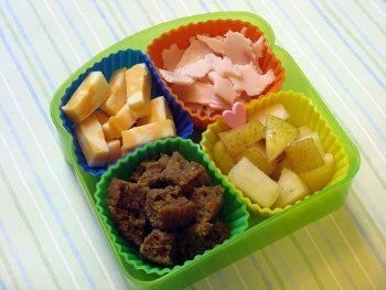 simple snack bento