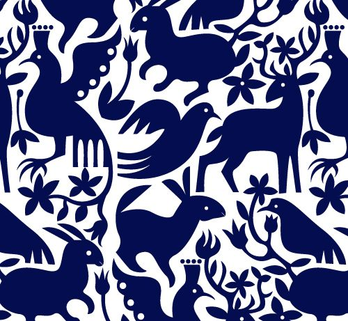 Mexican Otomi patterns