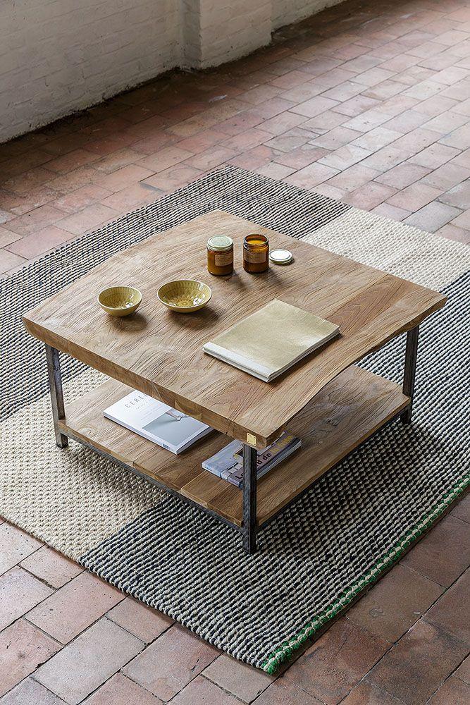 Plus de 25 id es table en teck tendance sur pinterest for Table exterieur 120x70