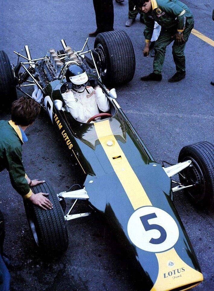 Lotus 49, Jim Clark, 1968