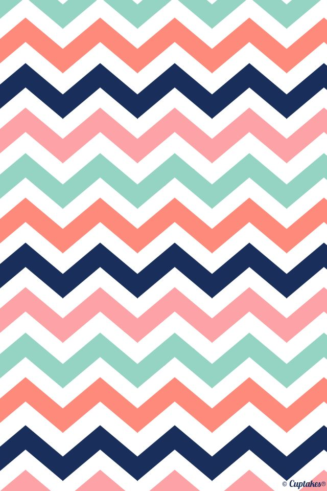 Chevron iphone wallpaper from Cuptakes