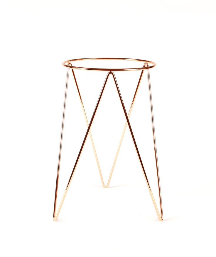 Get fancy with your greens, this Plant Stand from Bendo from their Luxe range will have your friends green with envy when they see you've transformed your lounge room into a greenhouse. | huntingforgeorge.com