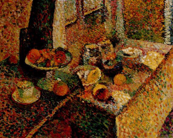 Buffet a tavola 1899
