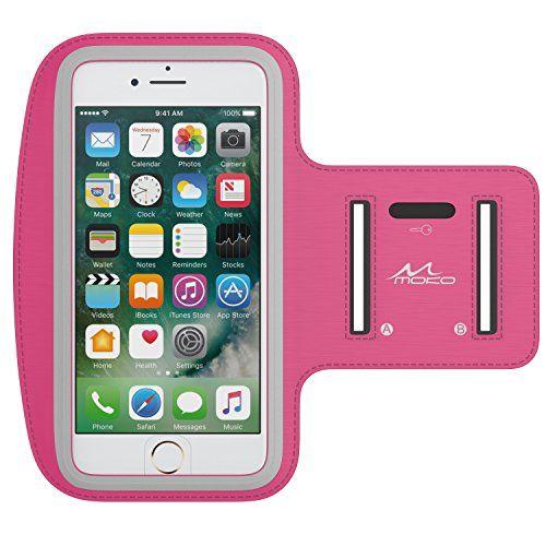 MoKo+Armband+for+iPhone+7+Plus+/+6s+Plus+/+6+Plus,+Sweatproof+Sports+Armband+Running+Arm+Band+for+iPhone+7+Plus,+6S+Plus,+Samsung+S8+Plus,+S7+Edge,+Note+4+/+5,+Magenta+(Fits+Arm+Girth+9″-12.6″)