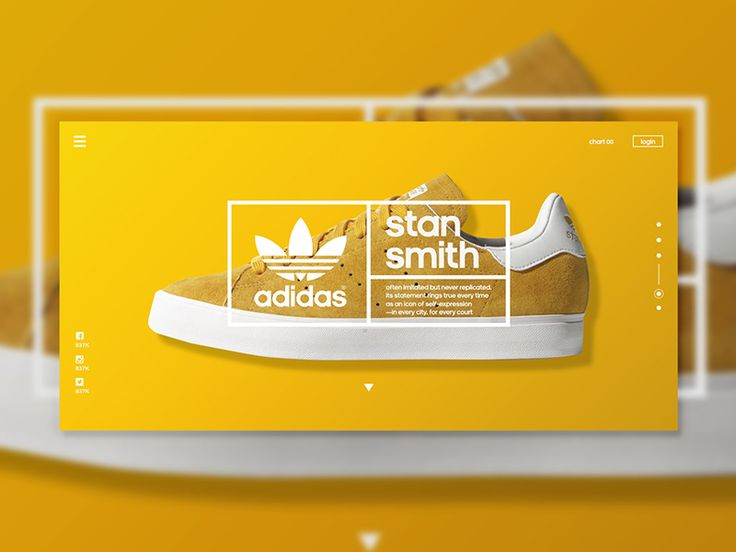 Adidas - Redesign Concept