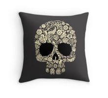 """flower skull helloween"" Classic T-Shirts by angkykezey 