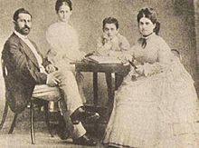 Theodor Herzl - Herzl and his family, c. 1866–1873 - Wikipedia, the free encyclopedia