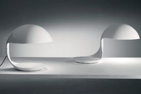 Cobra Table Lamp sheds direct light