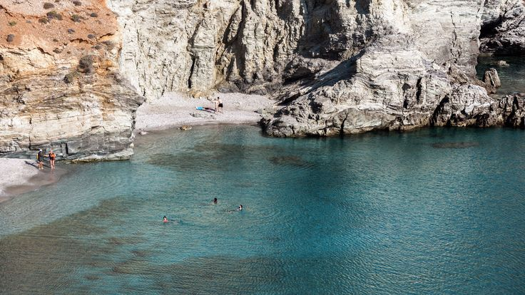 The beaches in #Folegandros are magical...