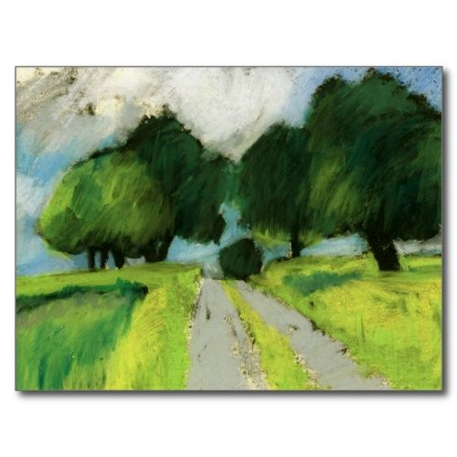 Oil Pastel Ideas | Oil pastels are great for outdoor sketches - Plein air