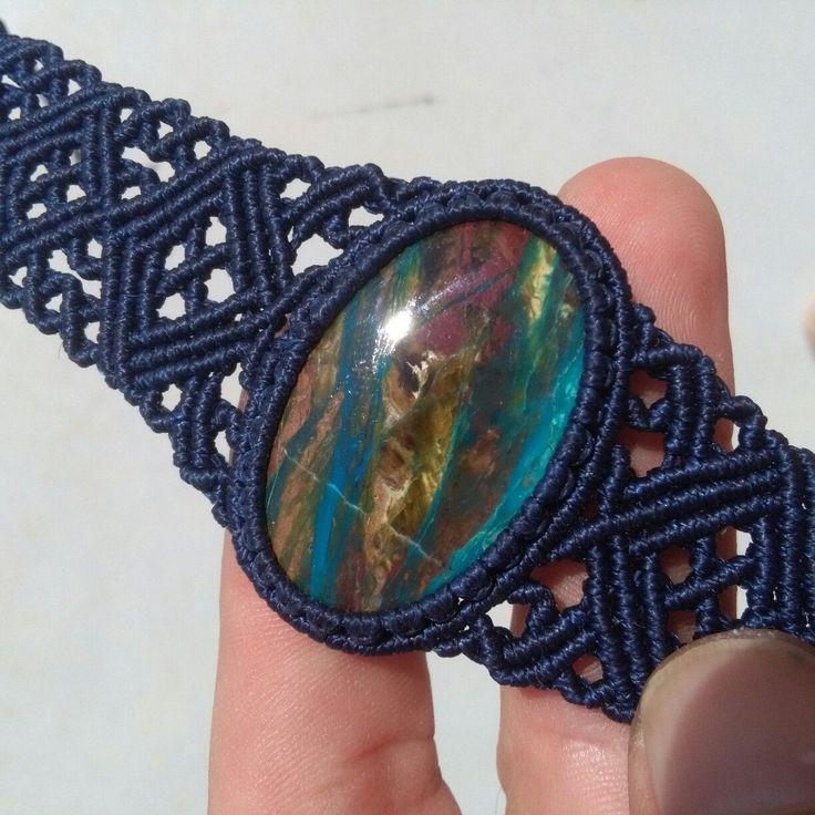 Chrysocolla bracelet now available ;)