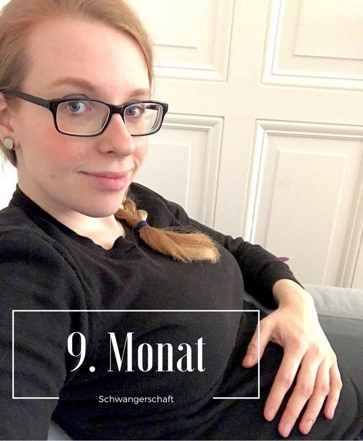 9. Monat der Schwangerschaft mit dem dritten Kind - Bauchumfang, Gewicht und kleine Wehwehchen. Mehr Infos auf https://mamaskind.de.