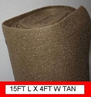 Polymat 15ft x 4ft Wide Tan/ Beige Car Speaker Box Carpet DJ Speaker Cabinet Carpet Trunk Liner by Polymat. $19.99. Heavy duty, easy to work with and mildew and stain resistant.