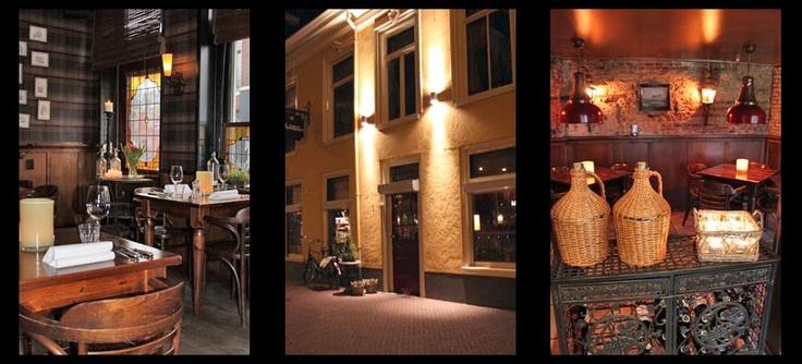 Sfeervol restaurant Vrouwenpoort in Leeuwarden
