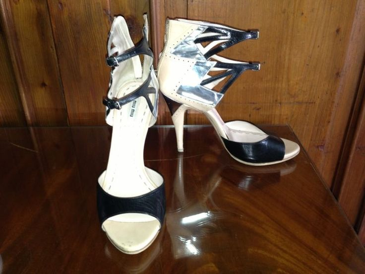 Stunning sexy Miu Miu sandals with a very very high heels
