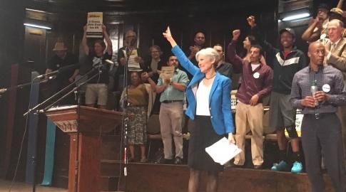 Jill Stein Rallies In Chicago, Rejects Criticism Of Green Party's Political Platform | Progress Illinois