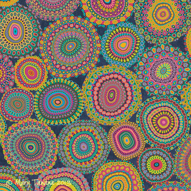 Boho Patchwork-Eden colors Art Print | Mandalas ...