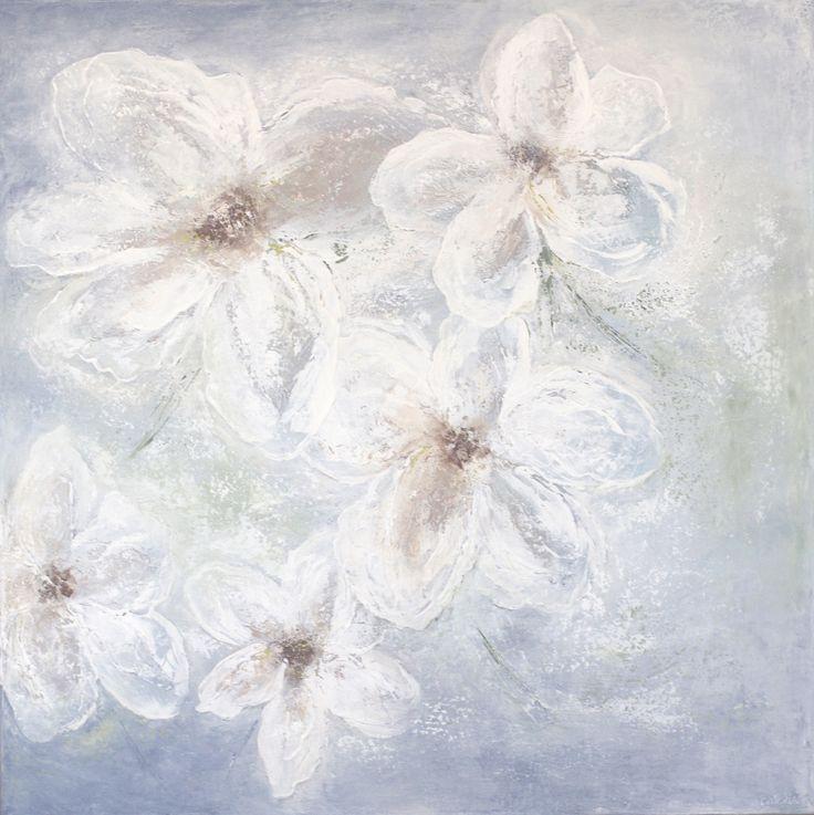 Flowers  80x80x4 cm.