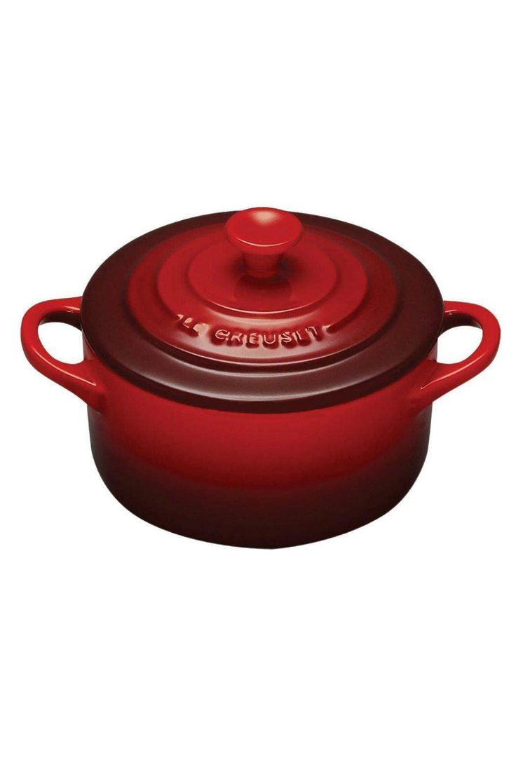 Whether used to serve single portions of a side dish or simply to decorate an empty section of countertop or kitchen shelving, the 8oz Mini Round Cocotte adds attractive color and classic Le Creuset style to the kitchen or the table. Features: 8oz capacity Stoneware maintains even temperatures and prevents scorching Unmatched thermal resistance – safe for freezer, microwave, oven, broiler and dishwasher Dense stoneware blocks moisture absorption to prevent cracking, crazing and rippling…