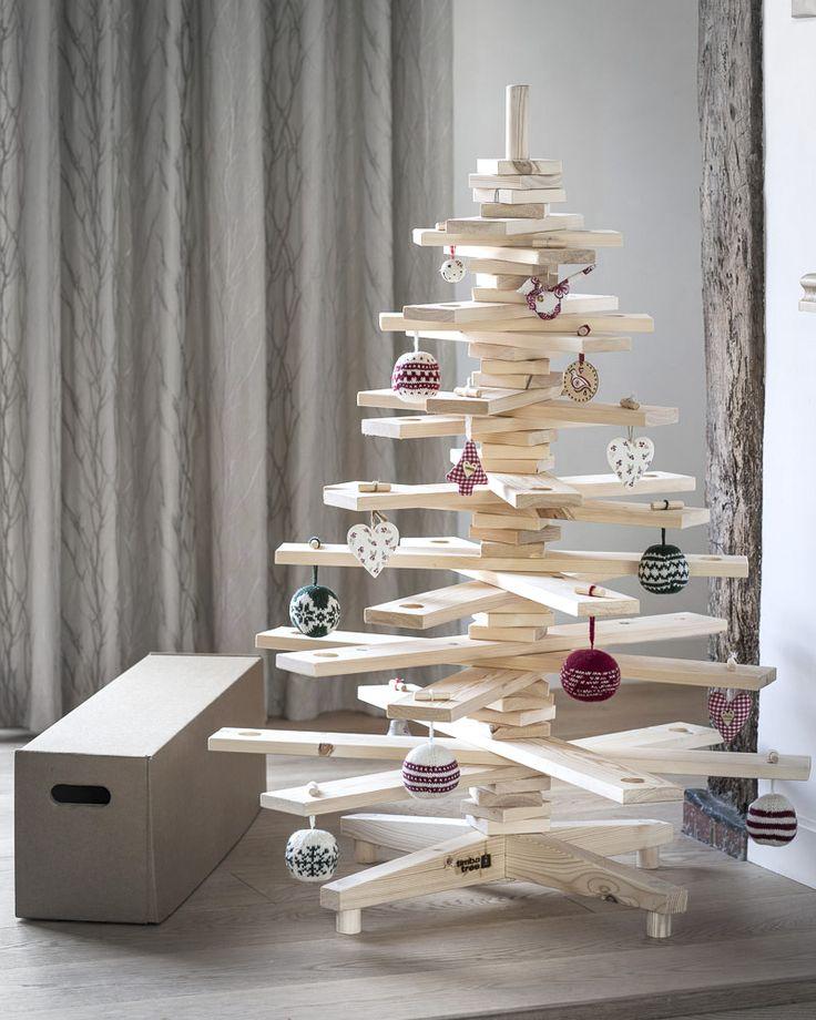 Arbre de Noël en bois