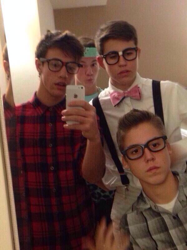 Cutest nerds I've ever seen!!
