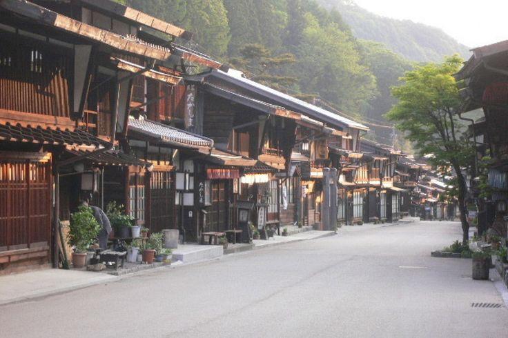 奈良井宿 Naraijuku