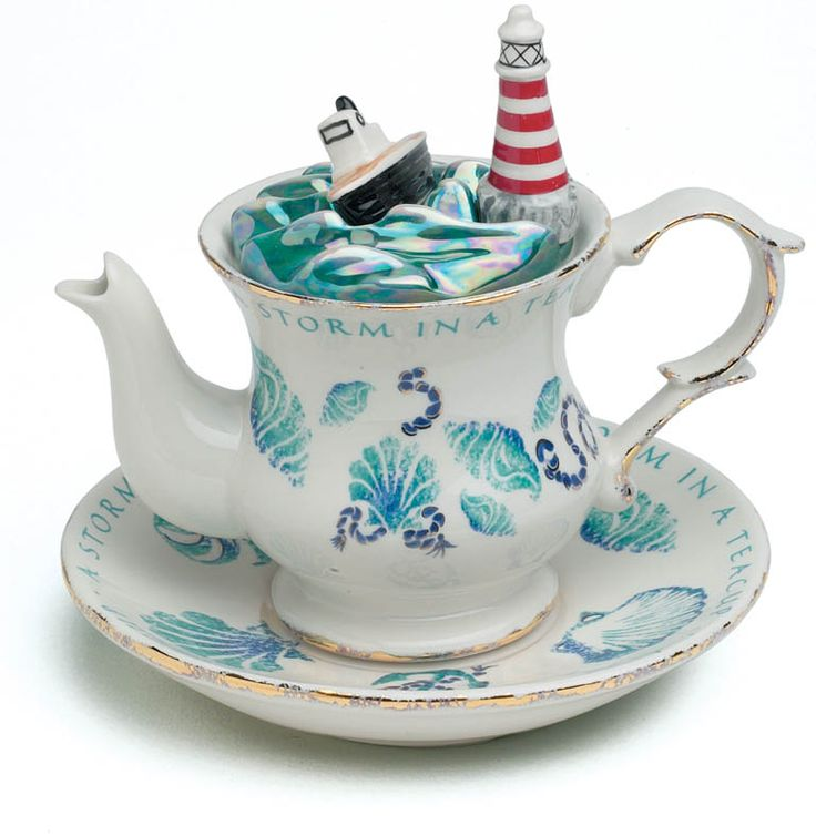 A Storm in a teacup. Fancy a dramatic teapot?