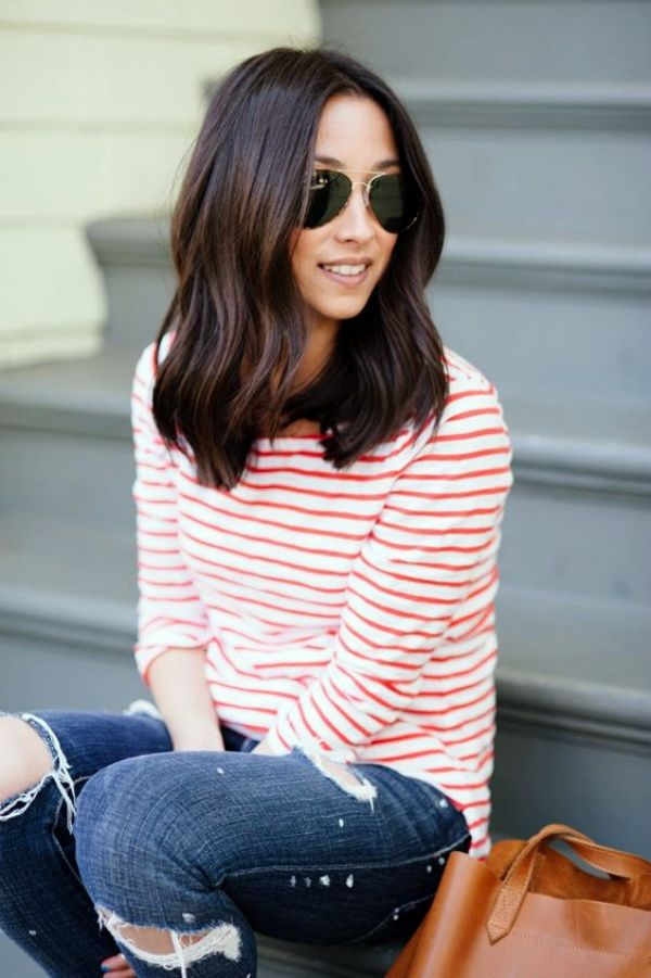 45 Chic Medium Length Hair Styles for Women - Page 3 of 3 - Latest Fashion Trends