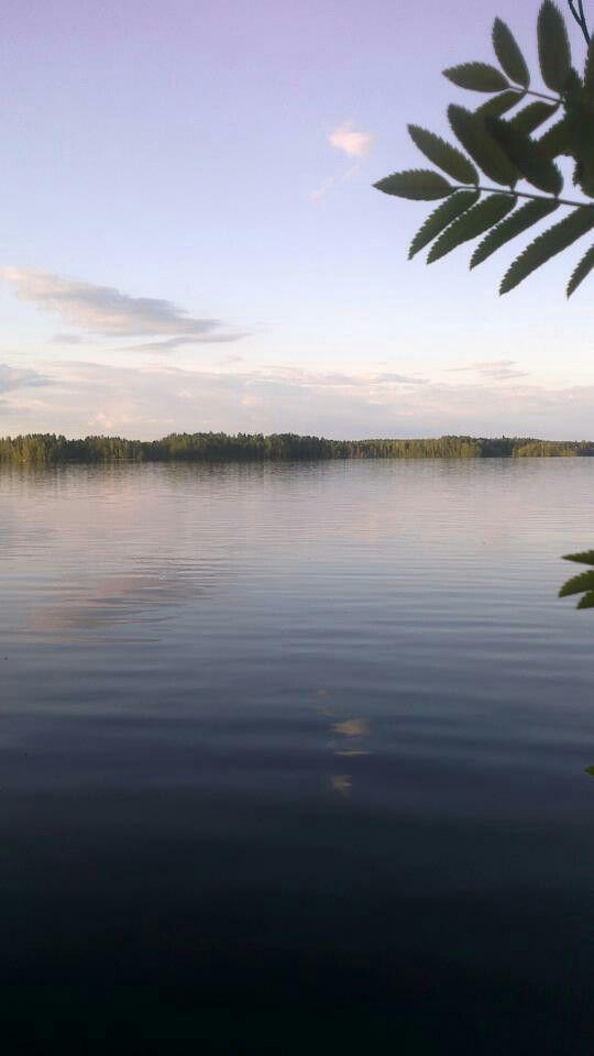 #Puula #lake #Finland #summer