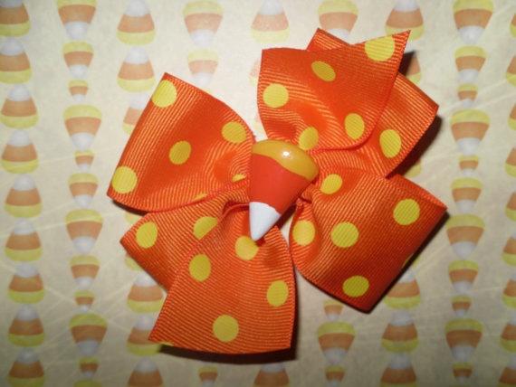 Halloween Hair Bow: Hairbows Crafts, Hair Ribbons, Hair Candy, Hair Accessories, Hair Clip, Halloween Hair Bows