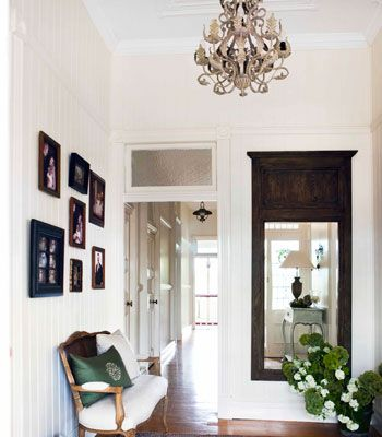 Charm, elegance and sophistication. Using classic furniture to style an old Queenslander that was recently renovated.