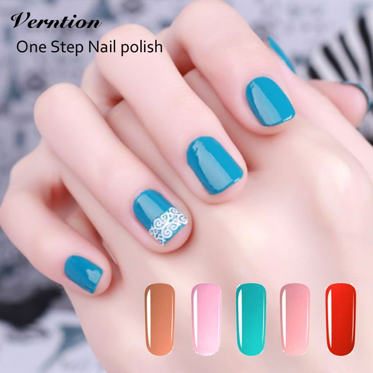 Lucky Vernis Nail Gel Lacquers Esmaltes Permanentes Soak Off cheap Gel 3in1 One Step Uv Gel Nails Polish Colors nail art
