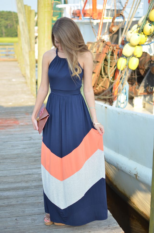 Southern Curls & Pearls, perfect summer dress.