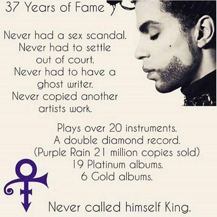 He was genius he didn't have to be king. Who wants to be a king when you can be Prince.