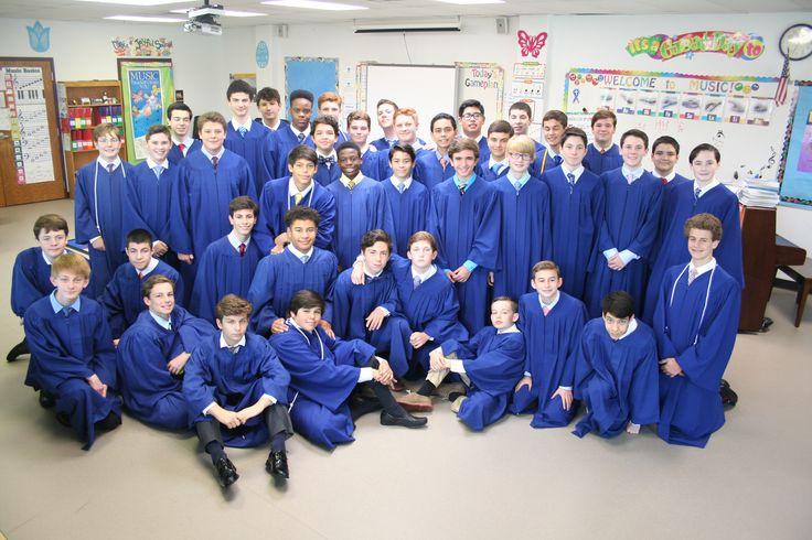 2016 8th Grade Graduates (boys) Make St. Monica Catholic School Proud Guys.
