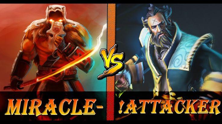 Miracle-Juggernaut VS. Attacker-Kunkka ♦ Dota 2 Pro Gameplay |Est Dota™
