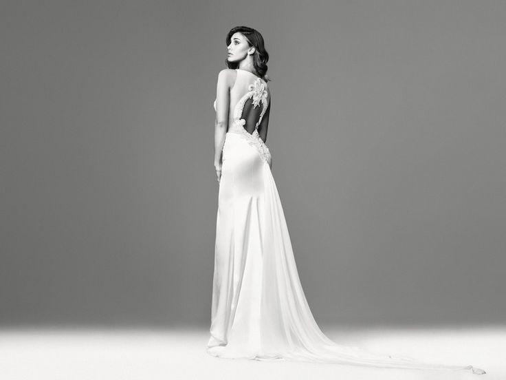 Vestiti da sposa schiena scoperta 2015 Vanitas