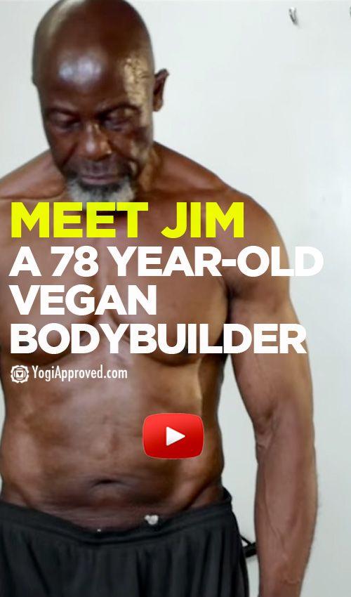 Meet Jim Morris, 78 Year-Old Vegan Body Builder