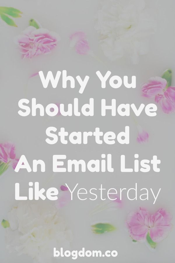 Email List Marketing   Email List Growth Tips   Blogging Tips   Blogging for Beginners