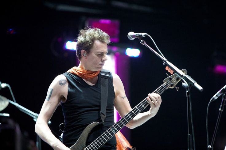 Nigel John Taylor of Duran Duran - Coachella 2011 Sunday on eecue ...