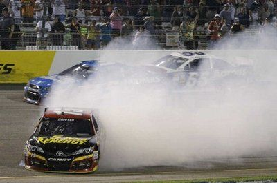 Bowyer Spin..Did he do it? Take our Pitstop Fans poll. www.pitstopfans.com